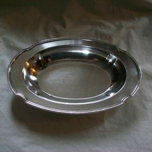 Antique Silver Community Plate 11941